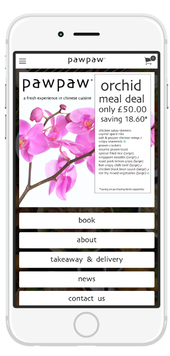 order chinese takeaway and delivery on the new pawpaw app