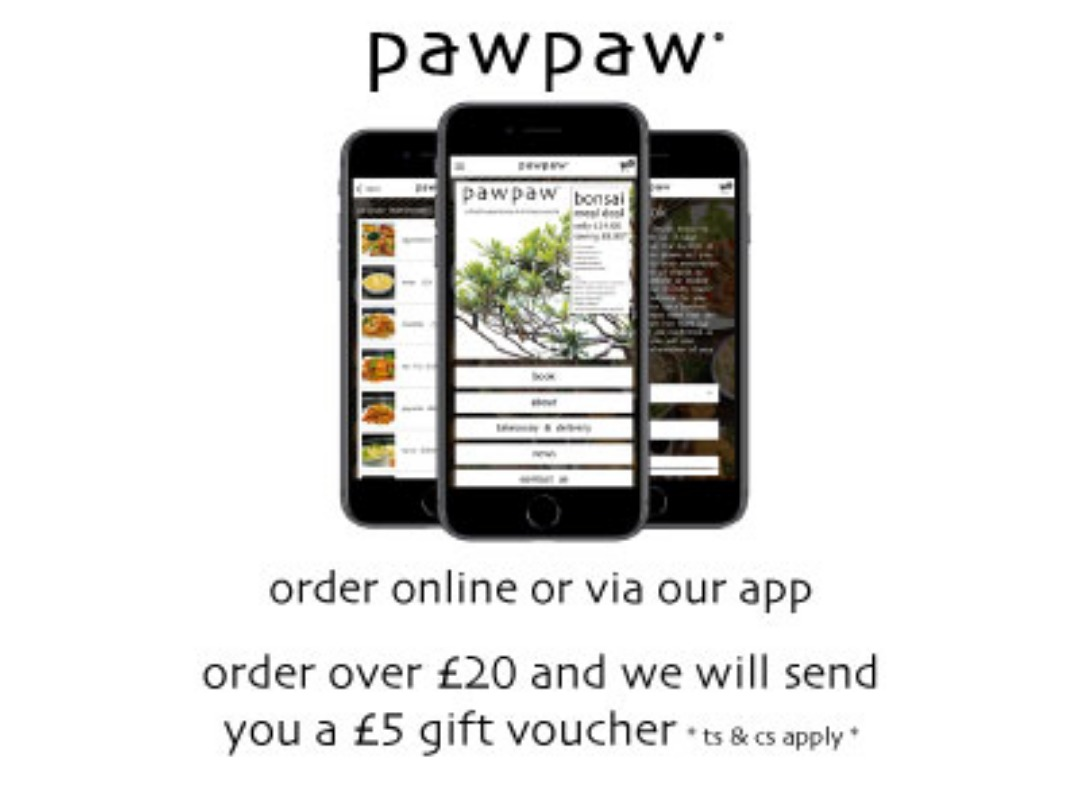 app and gift voucher offer