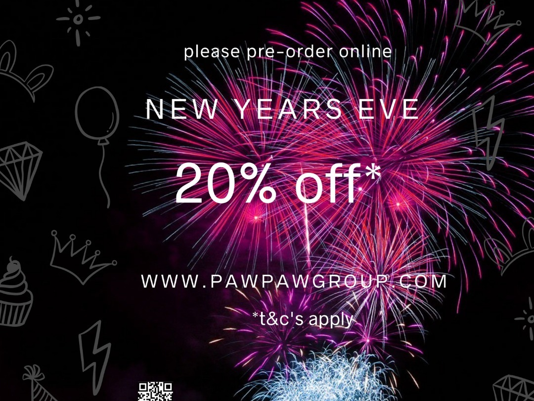 new year's eve 20% off