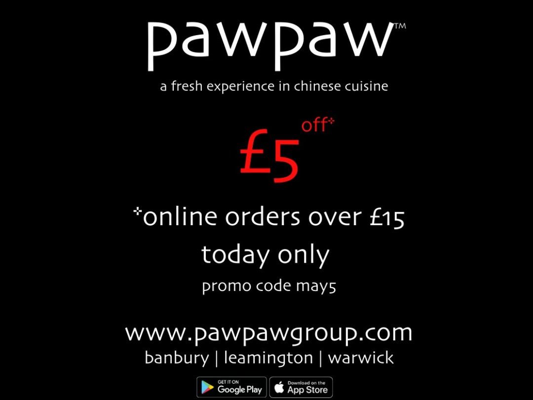 £5 off orders over £15