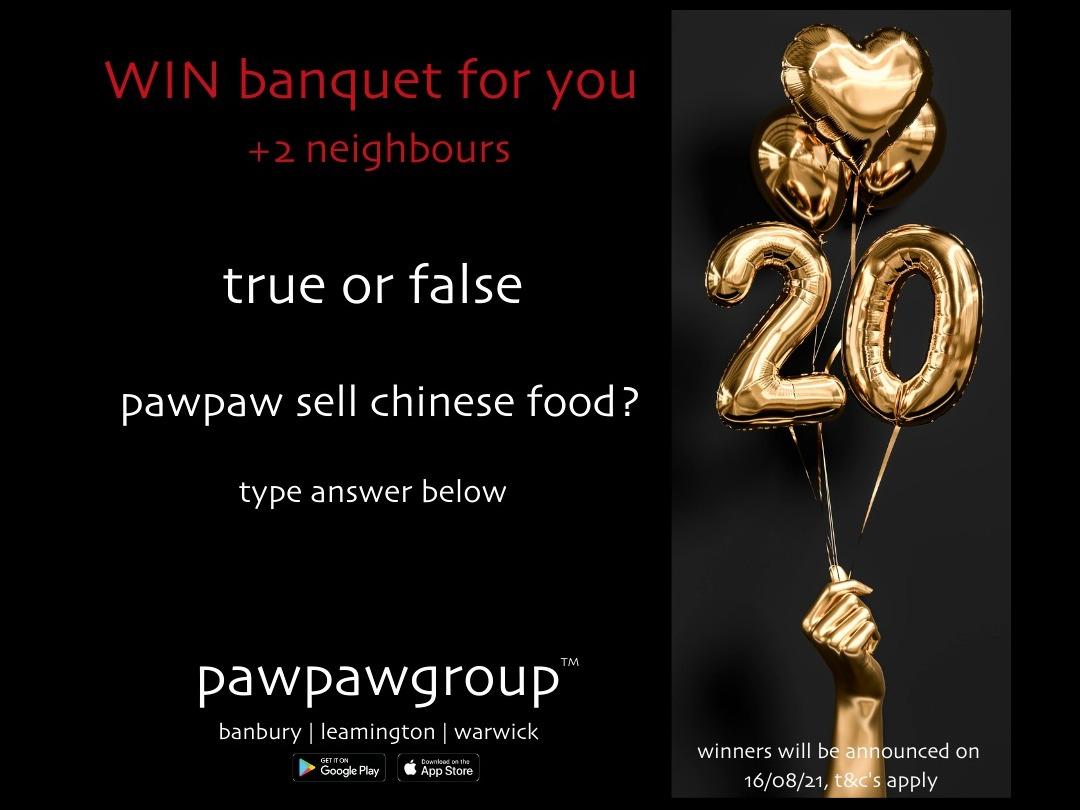 WIN banquet + neighbours