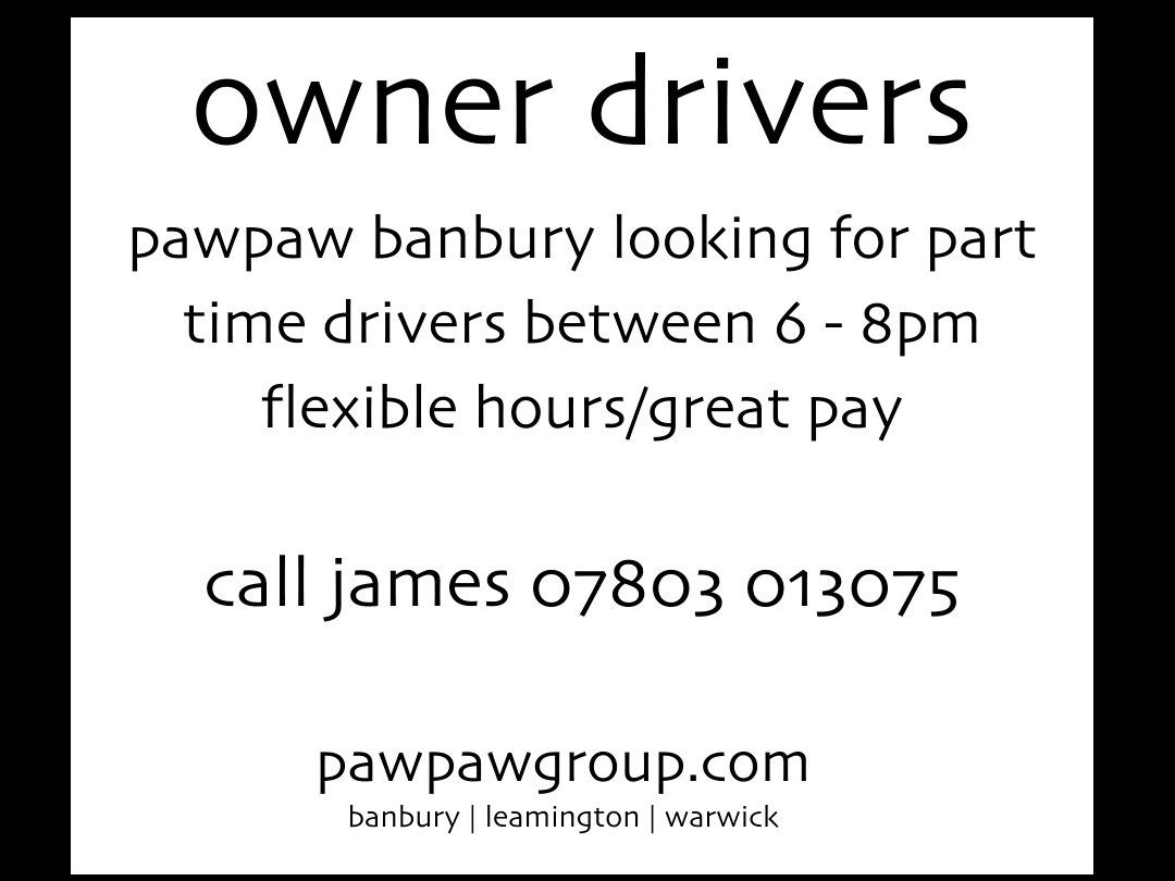 owner drivers wanted